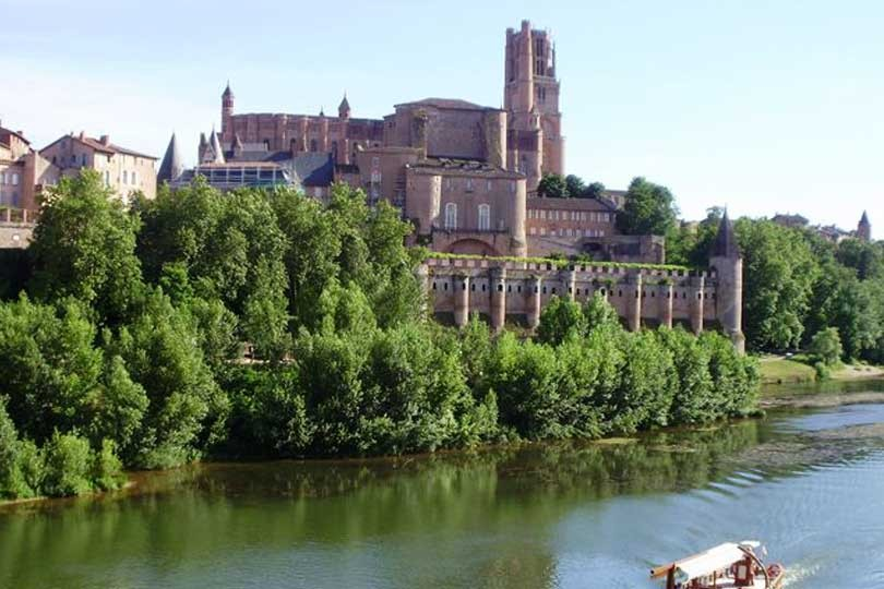 Un weekend albi patrimoine unesco les grandes vacances for Salon de the albi