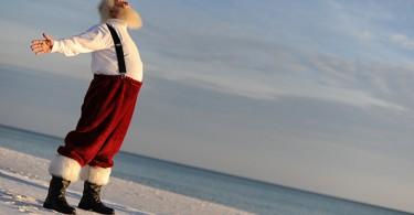 Père Noël, mer